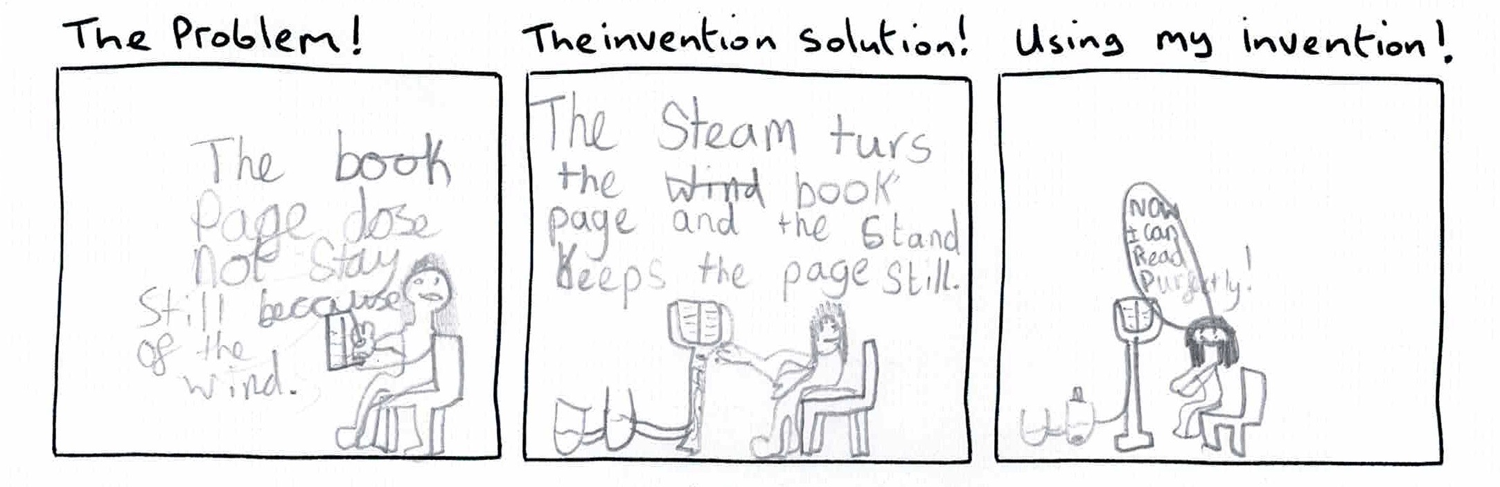 Inventors Log - invention comics