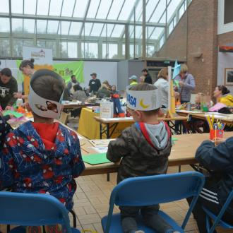 Little Inventors Pioneers Festival of thrift Workshop and display September 2019