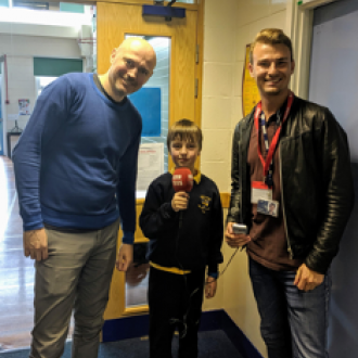 Dominic Wilcox and Little Inventor Arthur on BBC Radio Tees