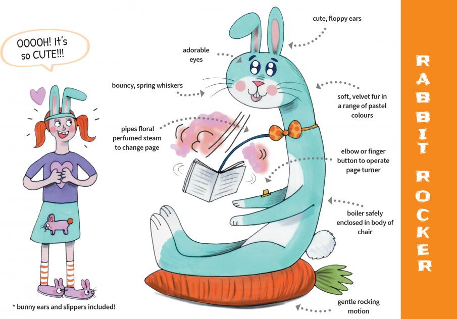 Book Turner - Rabbit Rocker