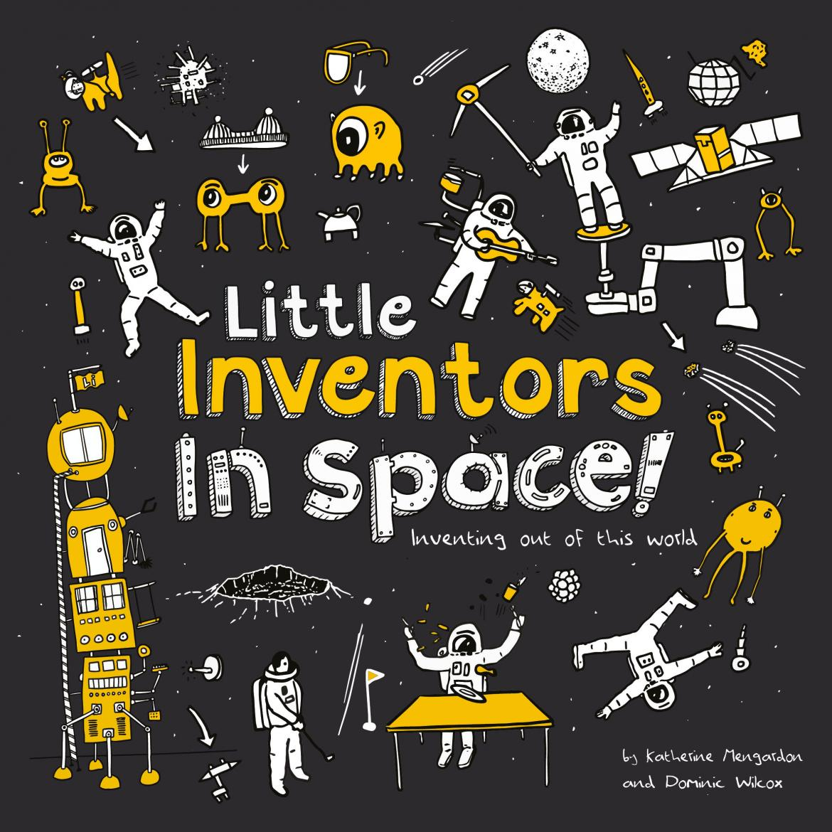 Little Inventors in Space! Book Cover
