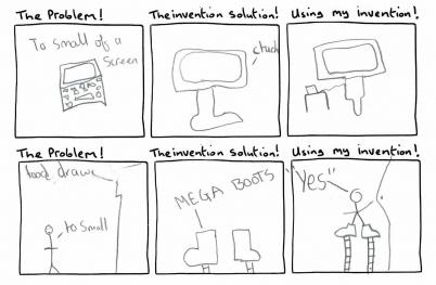 Mathew Invention Comic